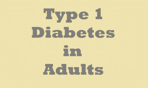 Type1 diabetes diagnosis in adults