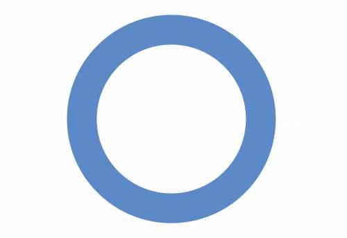 About Diabetes Symbol (Blue Circle)