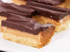 Homemade Diabetes-Friendly TWIX Bars